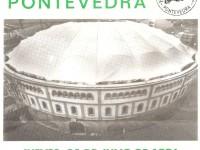 Cartel Inauguración cubierta Plaza de toros de Pontevedra 1996
