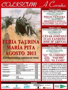 Corrida en Coruña Sábado 6