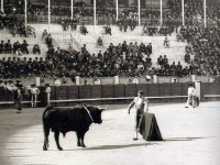 Antonio Fuentes en la plaza vieja de Madrid