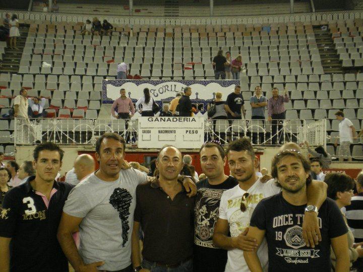 José Vicente (peña el capote), Marcos Duran, Gonzalo Gonzalez, Adolfo Fito, Roberto Argibay y Juan Riveiro (peña Cambio de Tercio)
