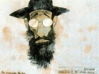 Retrato de Valle Inclán por Castelao