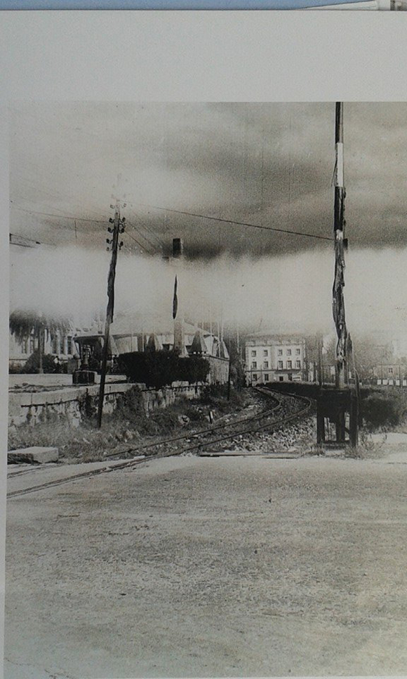 Cruce ferroviario Reina Victoria Pontevedra