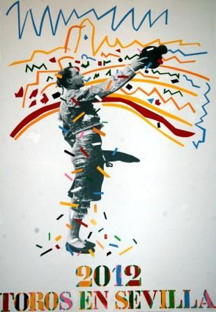 Cartel anunciador de la feria de Sevilla 2012