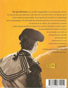 ¿Por qué Morante? Libro de Paco Aguado