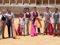 Clase Practica escuela taurina de Cuenca