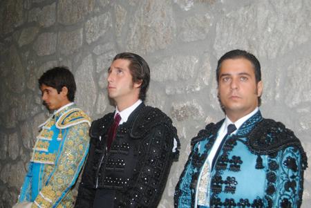 Sebastián Castella, Javier Ambel y José Chacón
