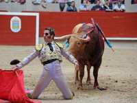 """Matador de toros Juan José Padilla """"El Ciclón de Jerez"""" en la plaza de toros de Pontevedra"""