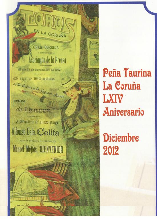 LXIV Aniversario peña taurina la Coruña 2012