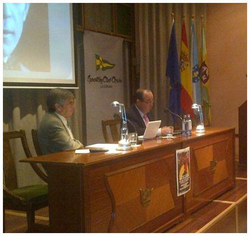 Marcial Ortiz y José Carlos Fernández Barallobre