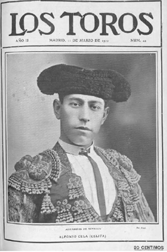 """Celita"" en Toros,11 de marzo de 1910"