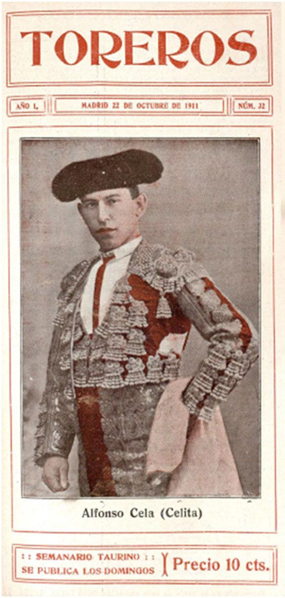 """""""Celita"""" en Toreros,22 de octubre de 1911"""