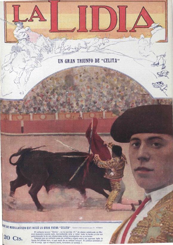 """""""Celita"""" en La Lidia,3 de mayo de 1915"""