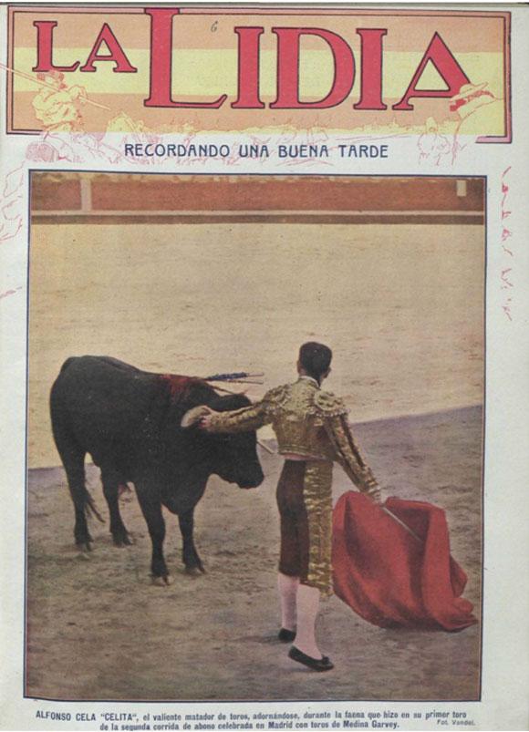 """Celita"" en La Lidia, 11 de octubre de 1915"