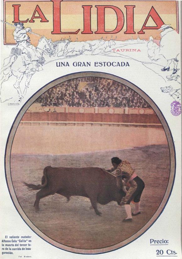 """""""Celita"""" en La Lidia,1 de mayo de 1916"""