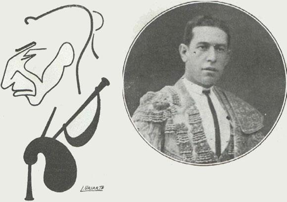 """""""Celita"""" en Toros y Toreros,31 de octubre de 1916"""