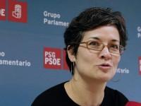 Patricia Vilán diputada por el Psoe en la Comunidad Autónoma de Galicia