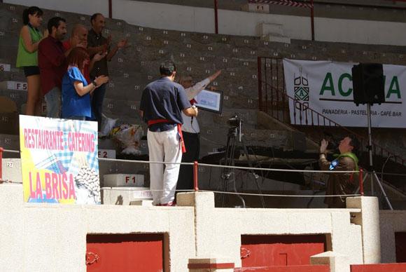 Comida homenaje a D. Luis Mariñas en la Xuntanza de Peñas 2011