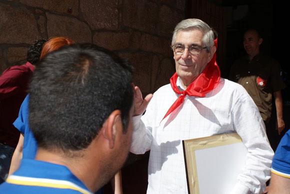 Luis Mariñas homenaje Pontevedra 2011
