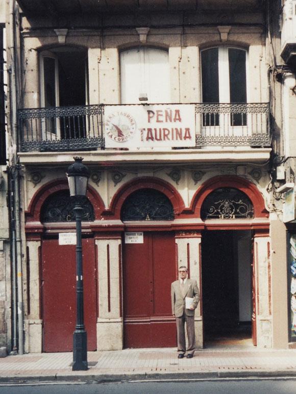 Antigua sede Peña Taurina La Coruña