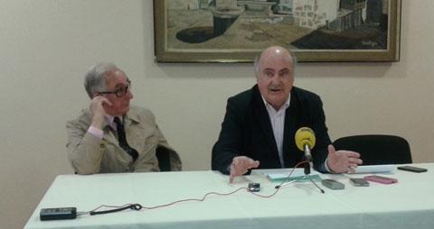Pedro Rivas y Fernando Lozano