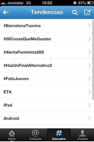 Imagen del trending topic del hashtag #BarcelonaTaurina
