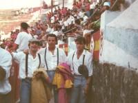 Plaza de toros de pontevedra Becerrada 1990