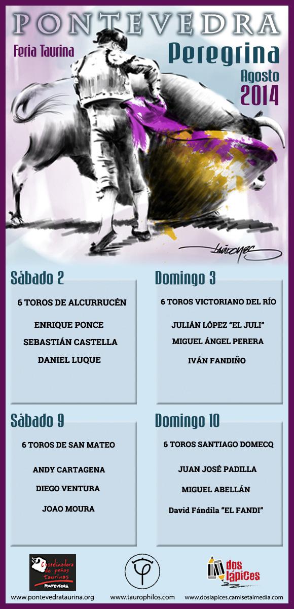 Cartel Feria Peregrina 2014