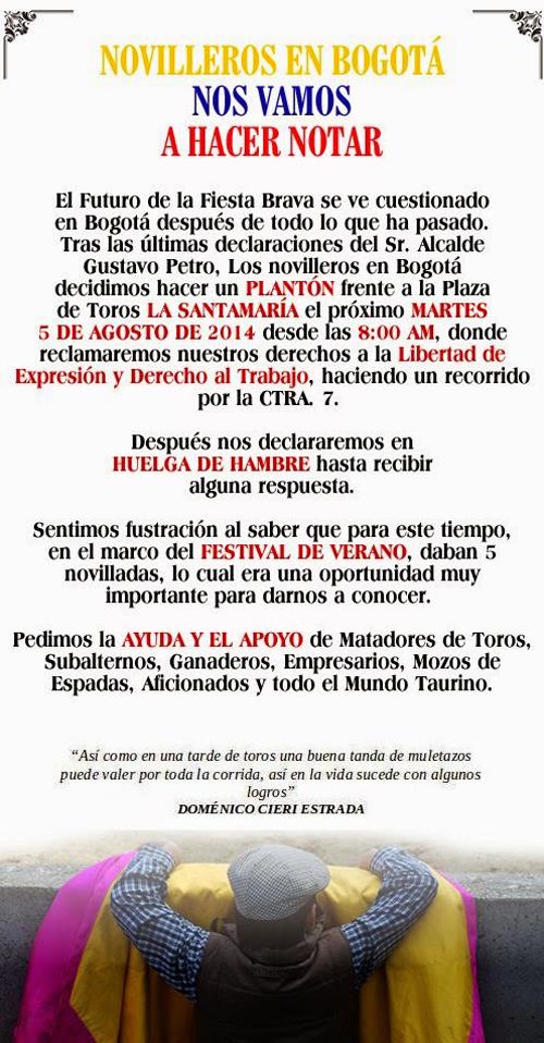 #FuerzaNovillerosmanifiesto