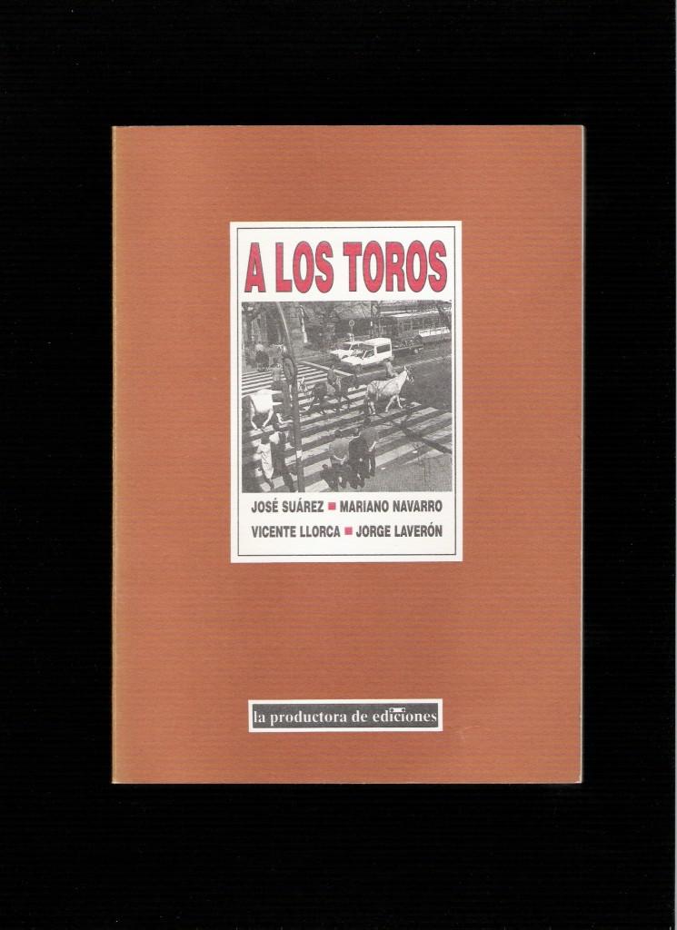 Portada del libro A LOS TOROS