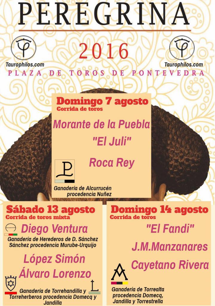 Cartel Feria Peregrina 2016
