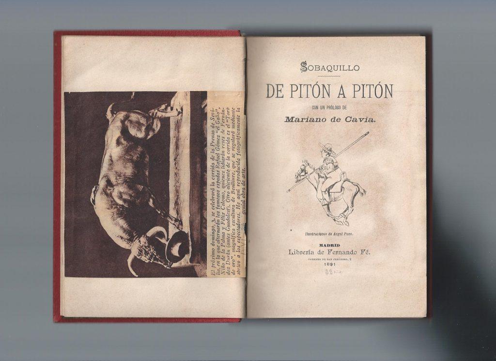 1891 DE PITÓN A PITÓN
