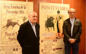 presentación cartel Preregrina 2018